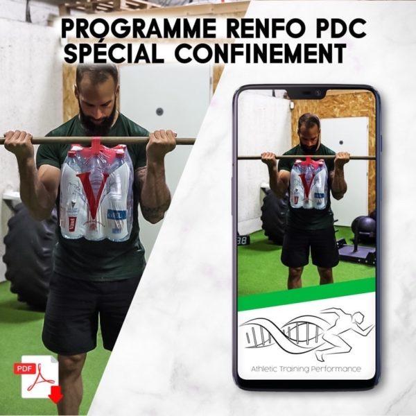 Programme Renforcement Musculaire Sans matériels